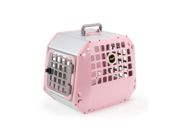 pink care2 crate