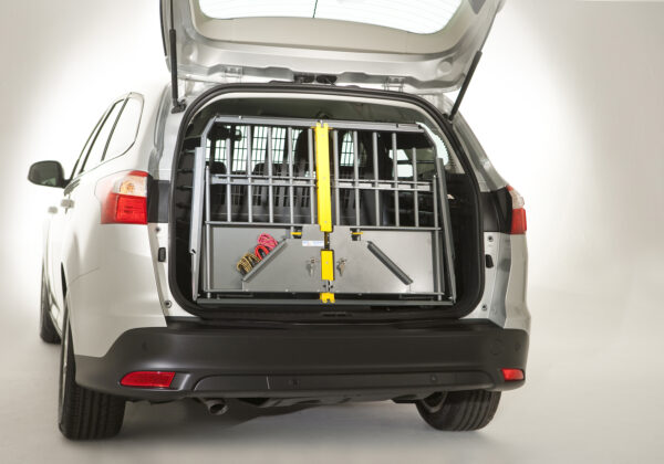 Dog car boot cages