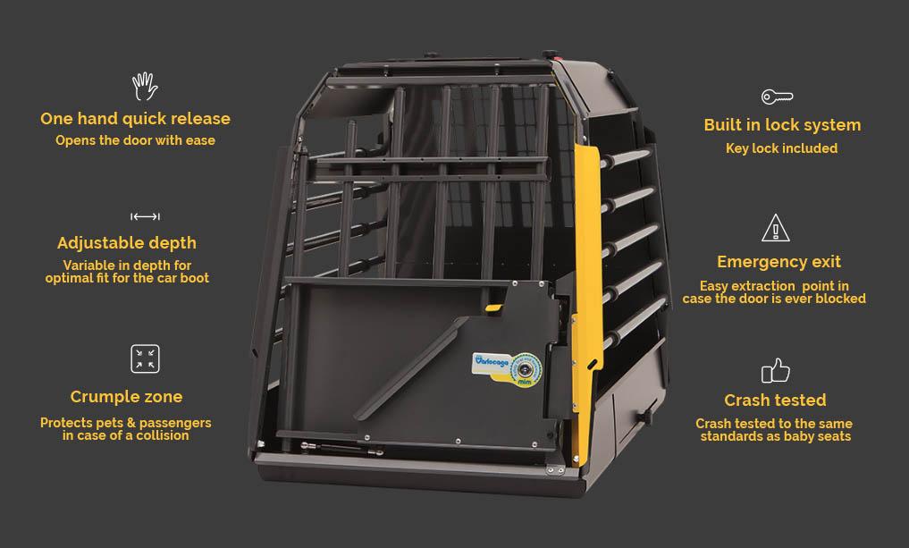 safest dog crate